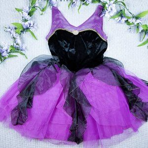Disney Store purple/black tutu Ursula dress